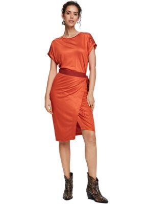 Narandžasta midi haljina - Scotch&Soda
