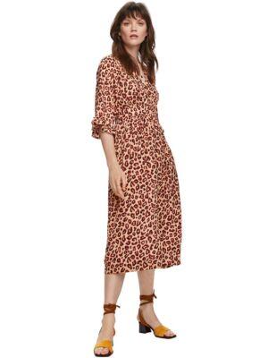 Leopard midi haljina - Scotch&Soda