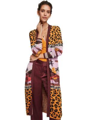 Leopard ženski kardigan - Scotch&Soda