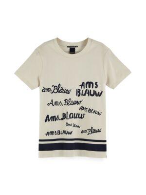 Ženska majica sa ispisima - Scotch&Soda