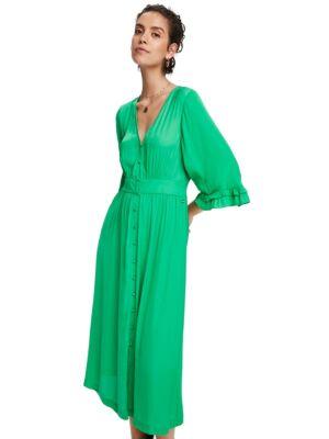 Zelena midi haljina - Scotch&Soda