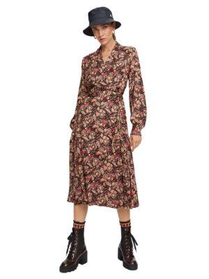 Šarena haljina na preklop - Scotch&Soda