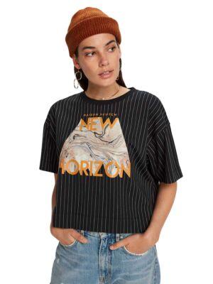 Široka ženska majica - Scotch&Soda