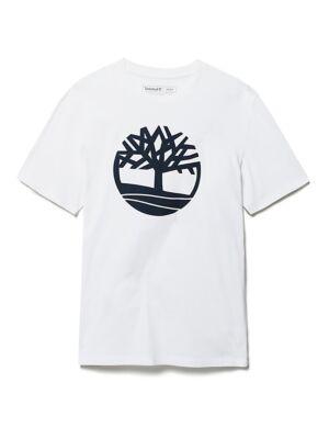 Bela muška logo majica - Timberland