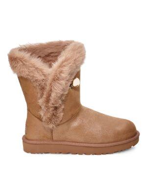 Postavljene ženske čizme za zimu - Ugg