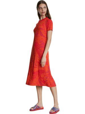 Midi haljina kratkih rukava - Desigual