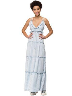 Maxi haljina na bretele - Replay