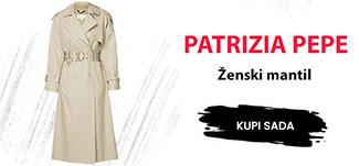 Patrizia Pepe zenski mantil