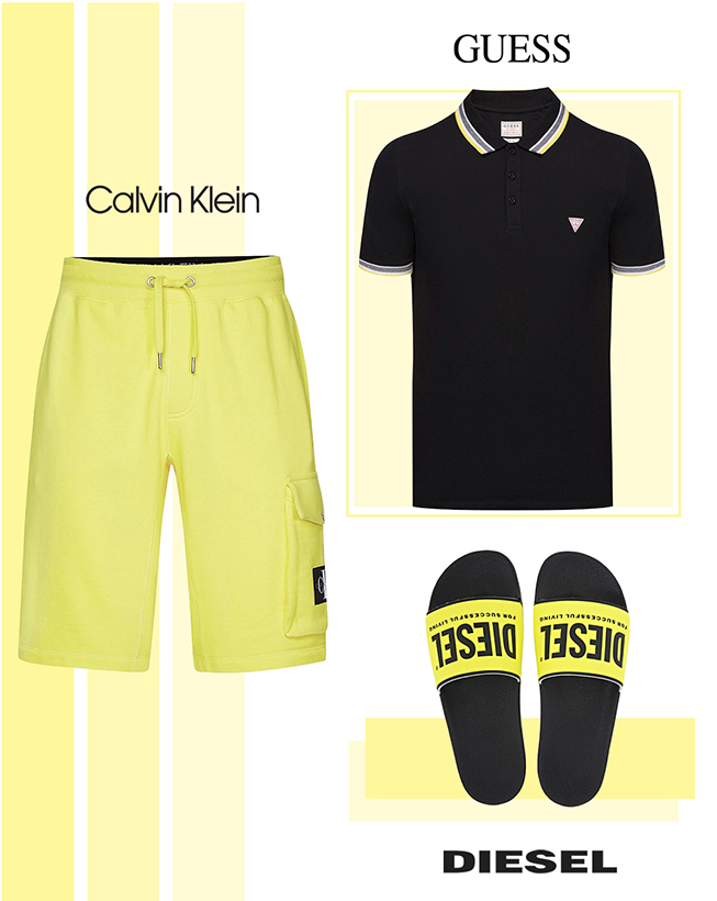 Majica, šorts i papuce