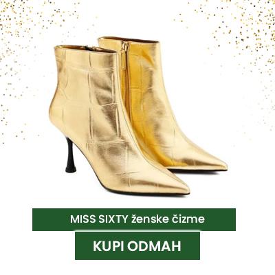 Miss Sixty zlatne čizme