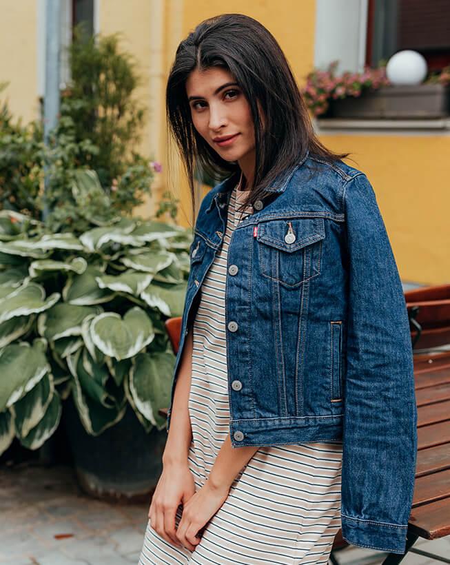 Levi's ženska teksas jakna