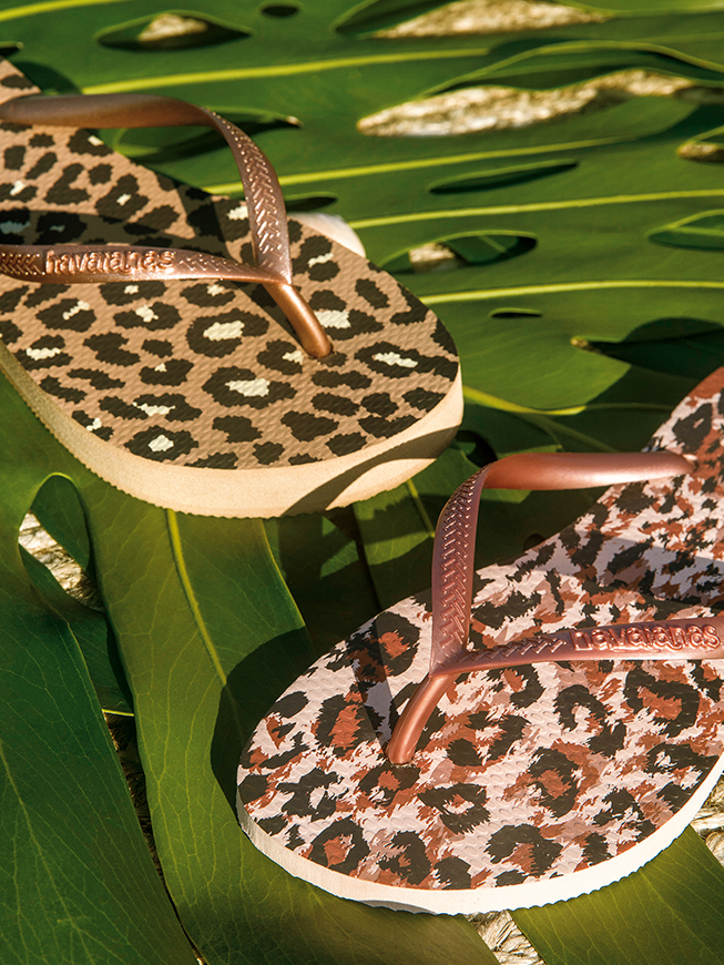 Leopard Havaianas japanke